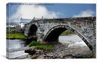 Iconic Llanrwst Bridge, Canvas Print