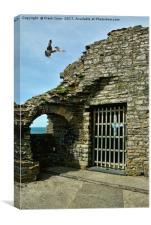 Aberystwyth Castle, Canvas Print