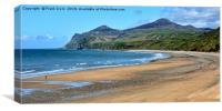 Morfa Nefyn, part of the long beach, Canvas Print
