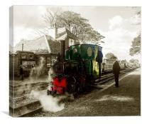 Lynton & Barnstaple Railway, Canvas Print