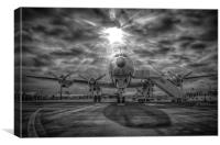 Breitling Constellation in sun, Canvas Print