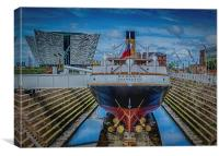 White Star S.S. Nomadic, Belfast, Canvas Print