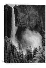 Bridalveil Fall, Yosemite National Park, Canvas Print