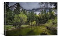 Tanya Creek, Yosemite National Park, Canvas Print