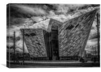 Titanic Building, Belfast, Canvas Print
