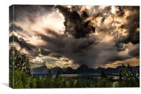 Signal Mountain Sky, Canvas Print
