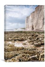 White Cliffs of England, Canvas Print