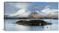 Rannoch Moor, Scotland, Canvas Print
