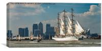 Tall ships, Canvas Print