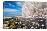 White Cliffs, Canvas Print