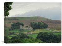 The dales and the hidden place, Canvas Print