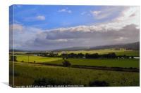 Speyside Landscape , Canvas Print