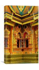 Thai Temple, Canvas Print