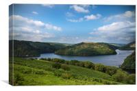 Heavenly Reservoir, Canvas Print