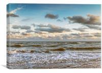 Peaceful Waves, Canvas Print