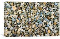 Multicoloured Stones, Canvas Print