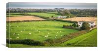 Welsh View, Canvas Print