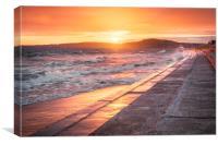 Wave Goodbye, Canvas Print
