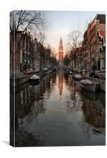 Zuiderkerk, Canvas Print