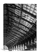 Brighton Station, Canvas Print