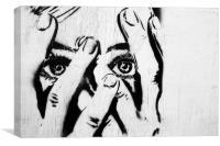 Paura, Canvas Print