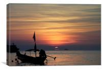 Koh Tao Sunset, Canvas Print