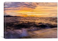 Zadar Sunset, Canvas Print