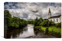 Comrie, Canvas Print