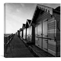 Cromer Beach Huts, Canvas Print