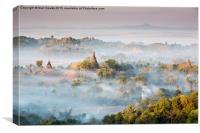 Misty Morning Marak U, Canvas Print