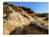 Hengistbury Head, Dorset, Canvas Print