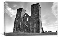 Reculver Towers, Kent, Canvas Print