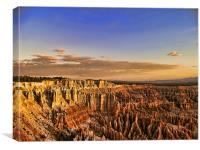 Bryce Canyon Sunrise, Canvas Print