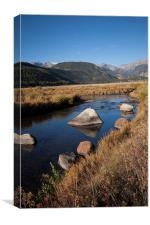 Moraine Park, Canvas Print