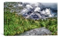 Arenal Volcano - Costa Rica, Canvas Print