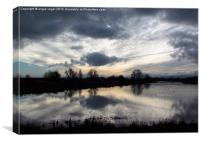 Dramatic Sky, Canvas Print