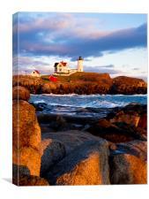 Nubble Lighthouse, Canvas Print
