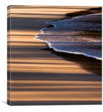 Beach Shadows, Canvas Print