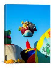Balloon Fiesta, Canvas Print