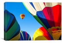 Socorro Balloon fiesta, Canvas Print