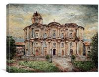 Basilica de San Martin de Tours, Canvas Print