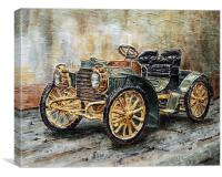 1901 Mercedes Benz, Canvas Print