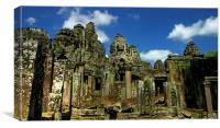 Bayon Temple*, Canvas Print