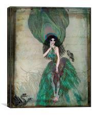 Mysterieuse, Canvas Print