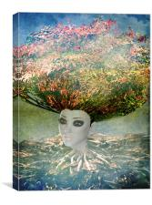 Tree of Life Fantasy, Canvas Print