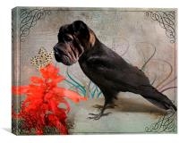 Fantasy Bird Dog, Canvas Print