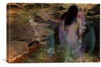 Mystical Pool, Canvas Print