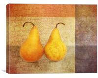 Two Pears, Canvas Print