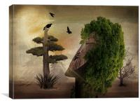 Stranger In The Forest, Canvas Print