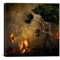 The Escape, Canvas Print